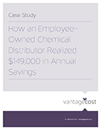 Vantage Cost - Employee Owned Chemical Distributor Case Study