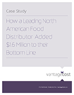 Vantage Cost - NA Food Distributor Case Study