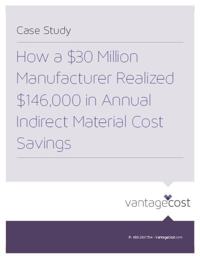 Vantage Cost Manufacturer Case Study large