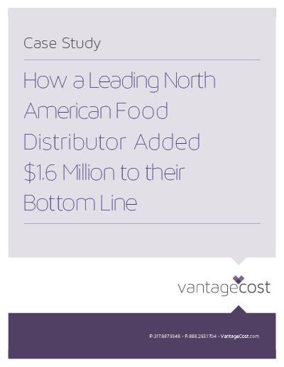 Vantage Cost NA Food Distributor Case Study large
